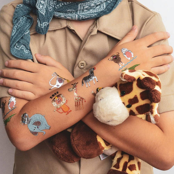 Flash Tattoos - Safari Adventure Variety Set