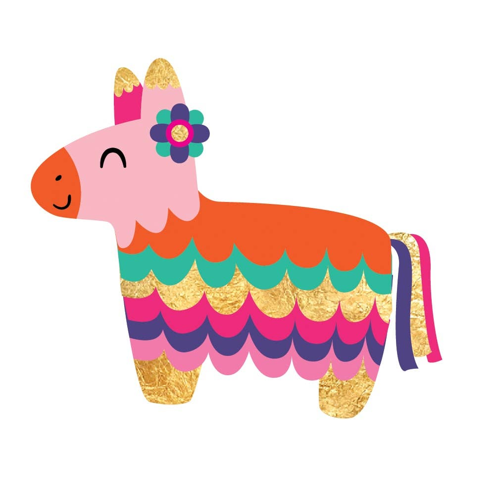 Flash Tattoos - Fiesta Pinata