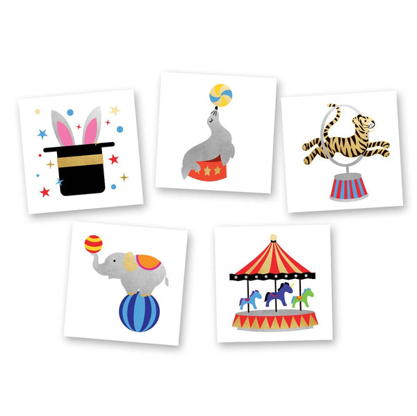 Flash Tattoos - Circus Variety Set