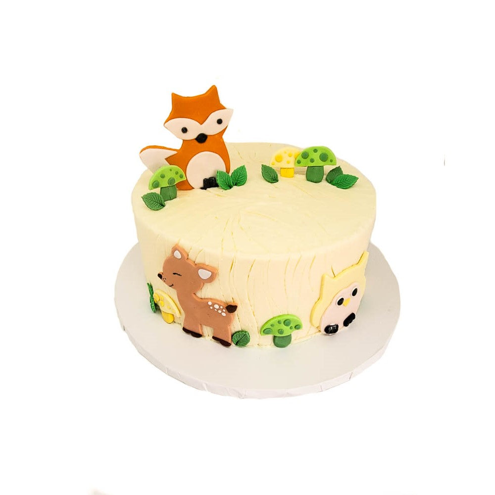 buy woodland creatures birthday cake