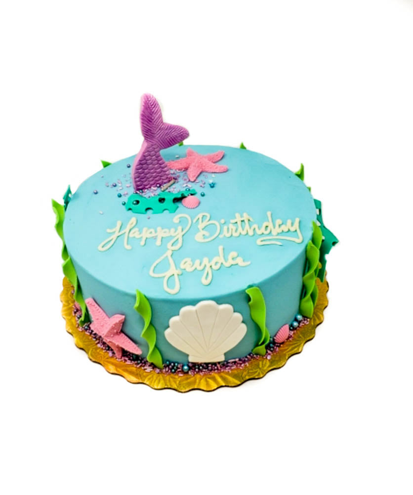 buy mermaid theme birthday cake