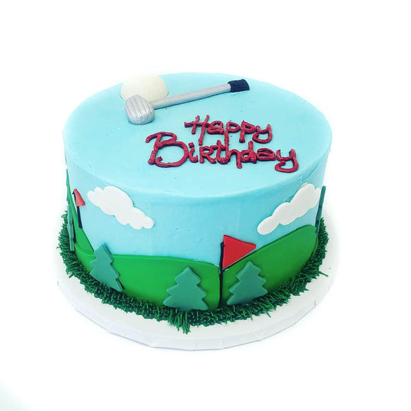 buy golf themed birthday cake