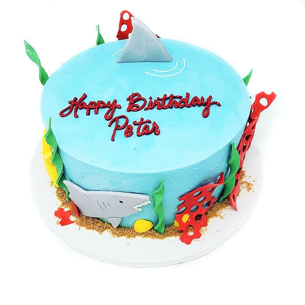 buy shark birthday cake