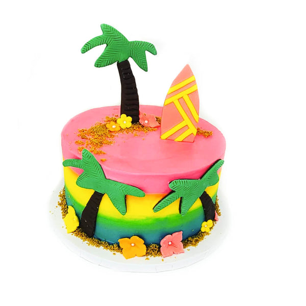 buy luau tropical birthday cake