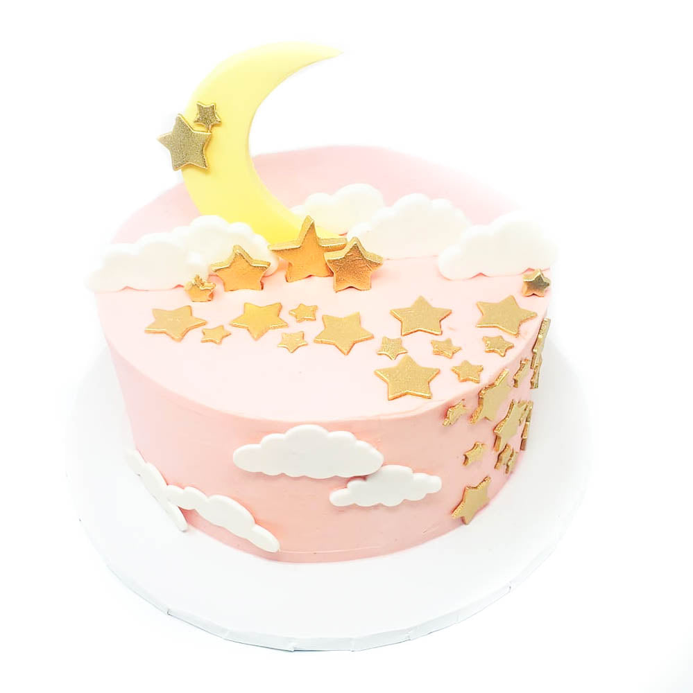 Twinkle Twinkle Little Girl cake