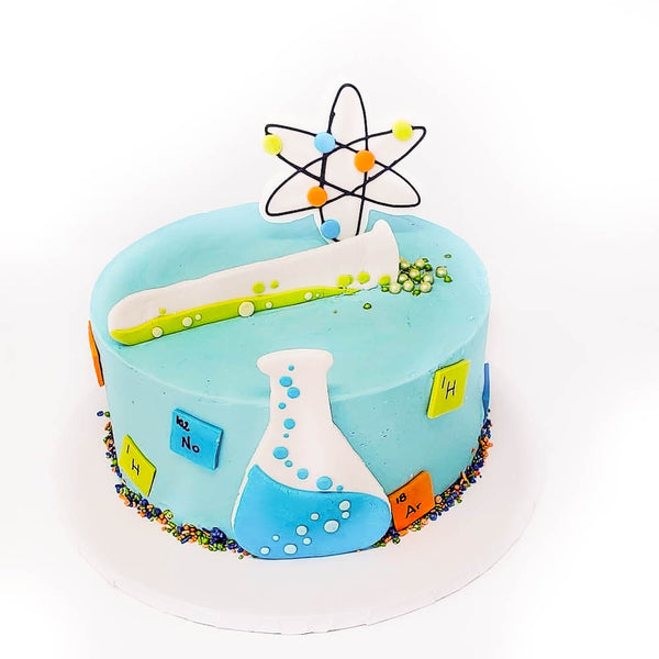 buy science theme cake