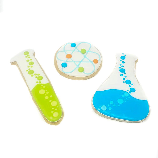 buy science themed cookies