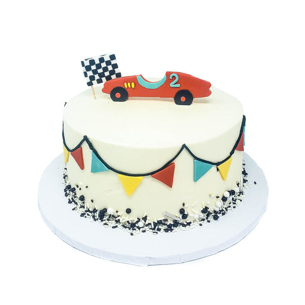 buy race car birthday cake