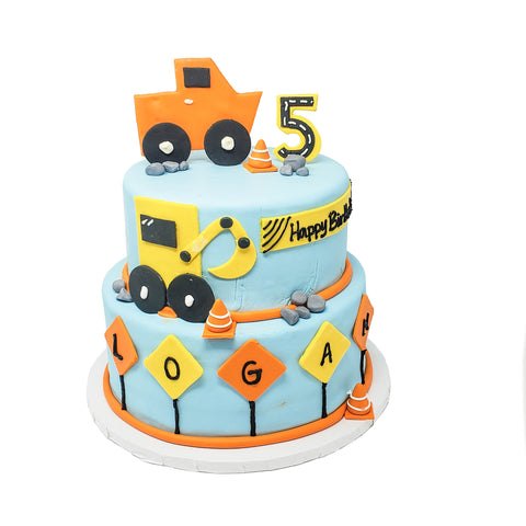 buy construction theme cake