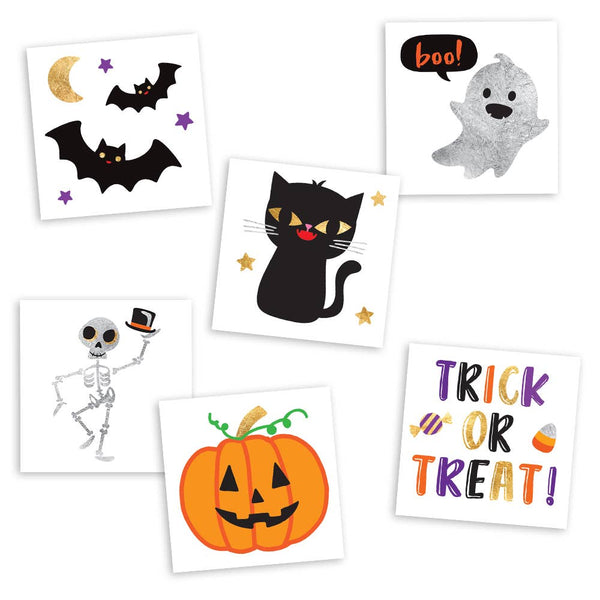 Flash Tattoos - Cute and Spooky Variety Set