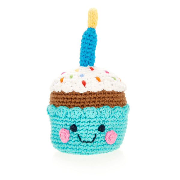 Friendly Cupcake with Candle Toy