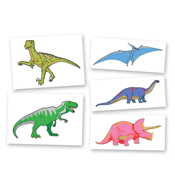 Flash Tattoos - Dinosaur Variety Set