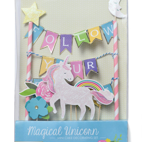 Follow Your Dreams Cake Topper
