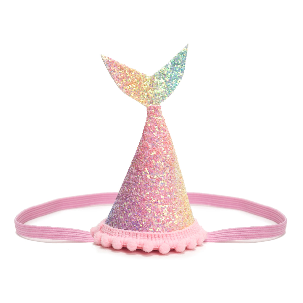 buy mermaid tail rainbow glitter birthday crown