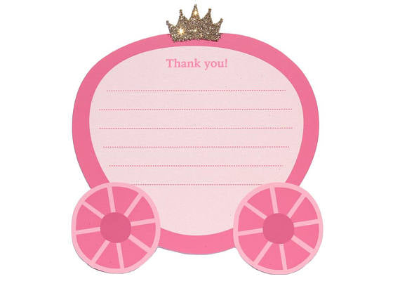 buy once upon a time thank you card