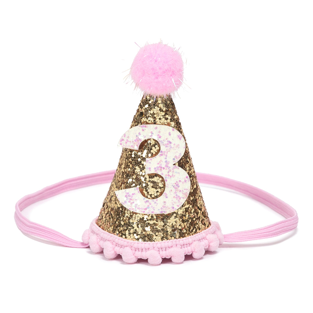 buy gold #3 birthday crown