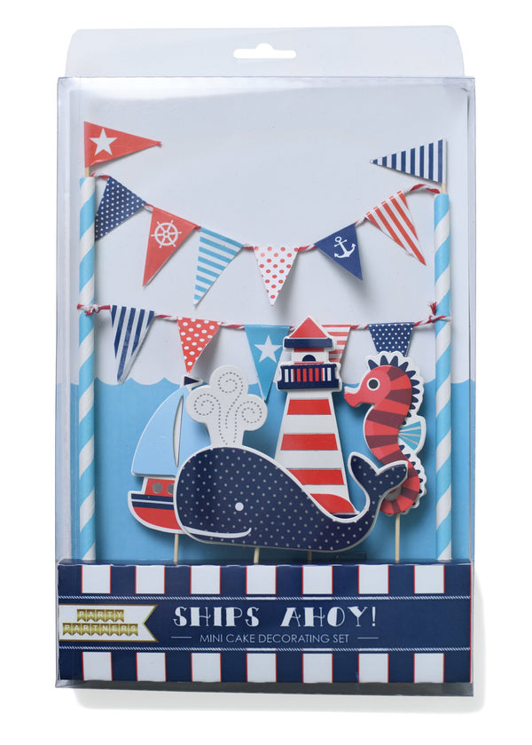 buy  ships ahoy cake toppers