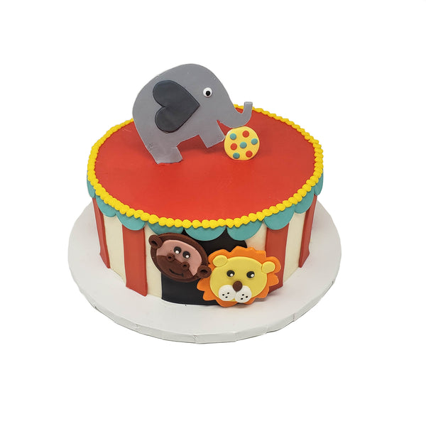 buy circus theme birthday cake