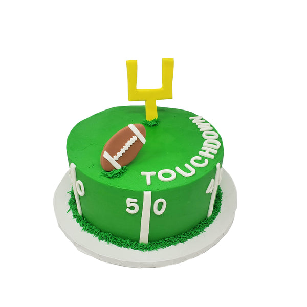 buy football theme cake