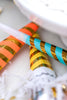 Striped Party Horns (6 pack)