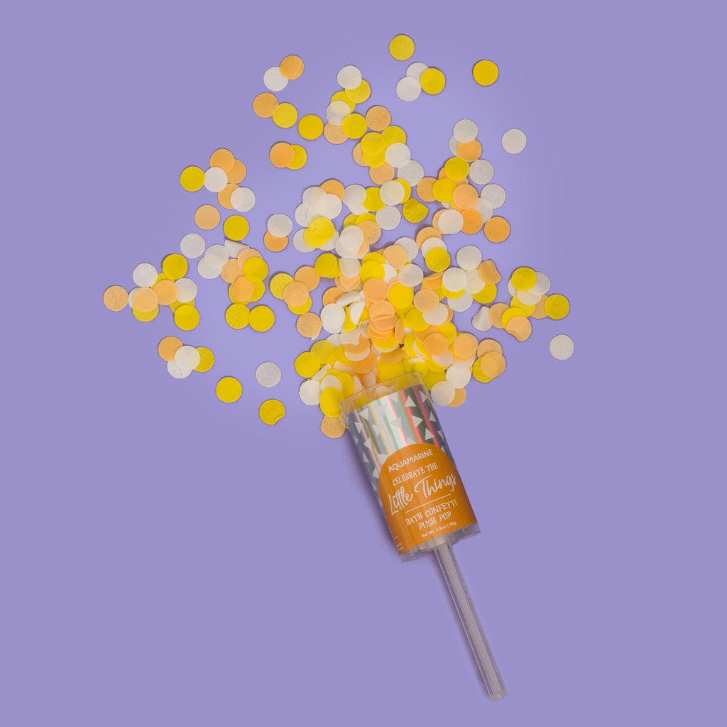 buy little things bath confetti push pop