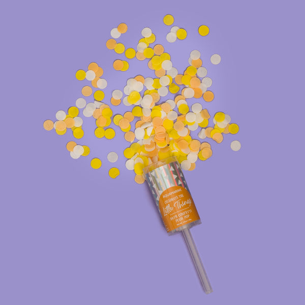 Celebrate the Little Things Bath Confetti Push Pop