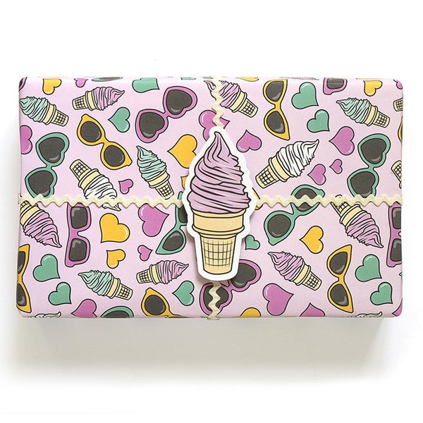 buy ice cream wrapping paper