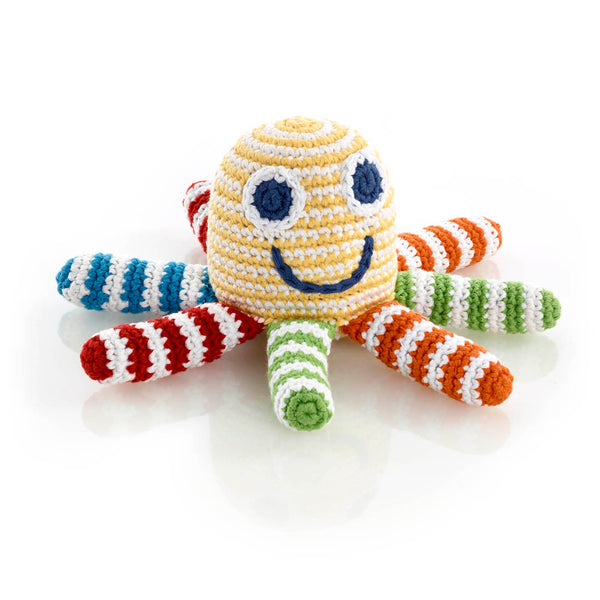 Rainbow Octopus Rattle