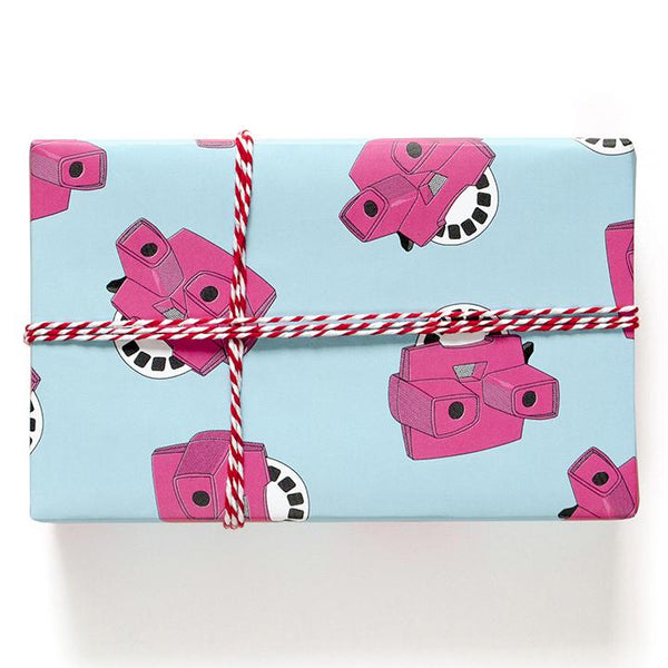buy view-master gift wrapping paper