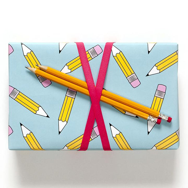 buy pencil gift wrapping paper