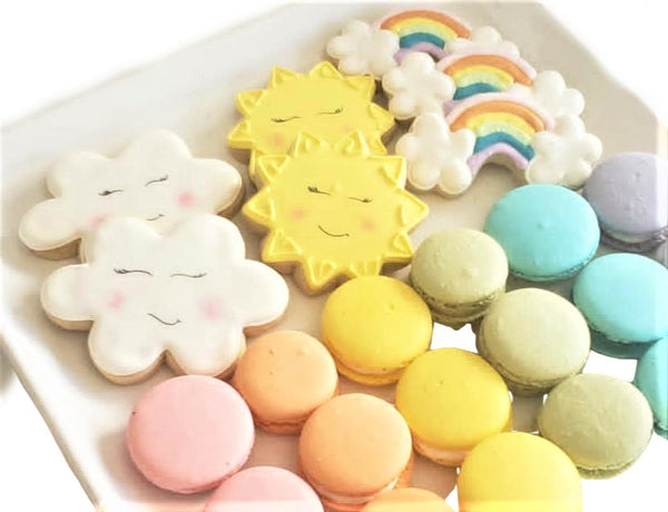 SHIP Rainbow Cookies