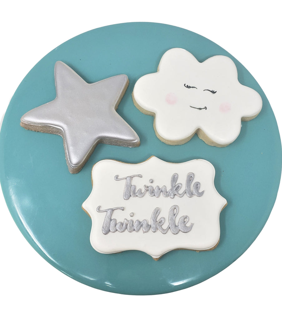 SHIP Twinkle Twinkle Little Boy Cookies