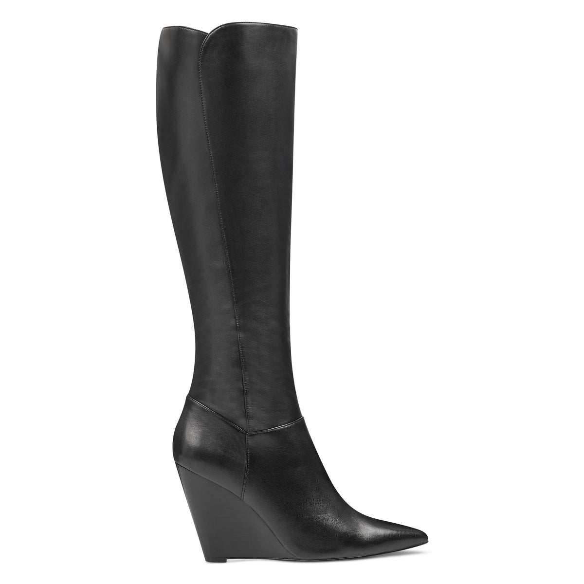 Varin Wide Calf Wedge Boots