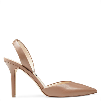 Meredith Pointy Toe Slingbacks