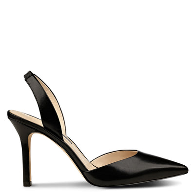 Meredith Pointy Toe Toe Slingbacks