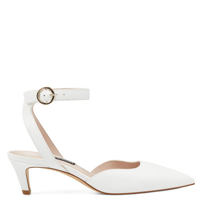 Quinteena Ankle Strap Pumps