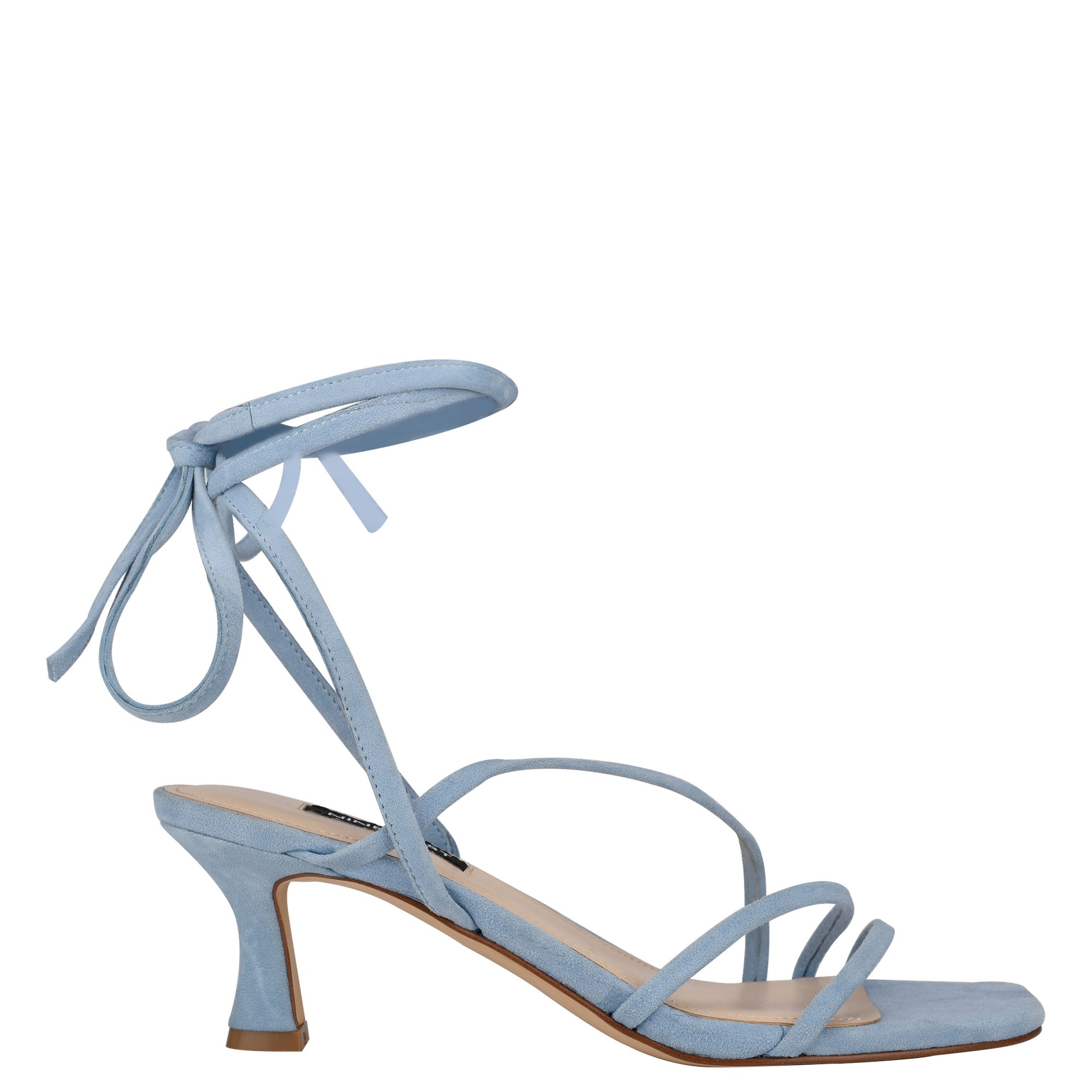 Agnes Ankle Wrap Heeled Sandal
