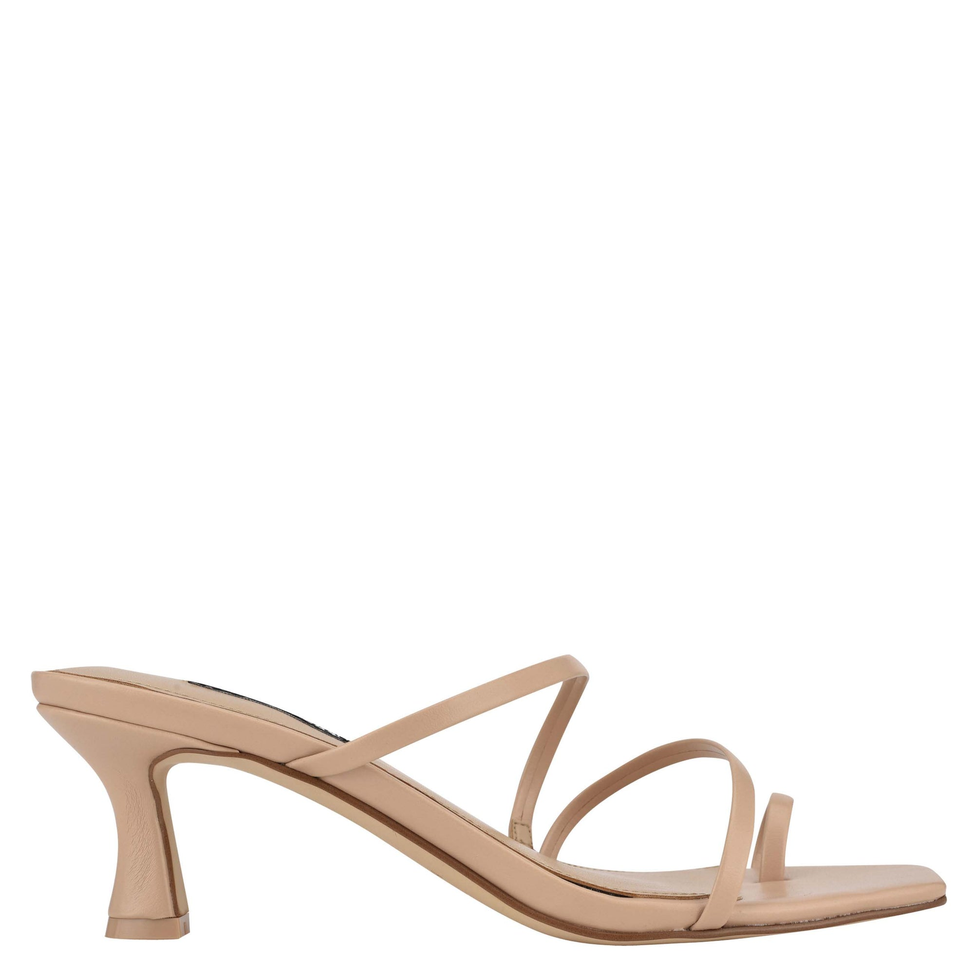 Aila Heeled Slide Sandals