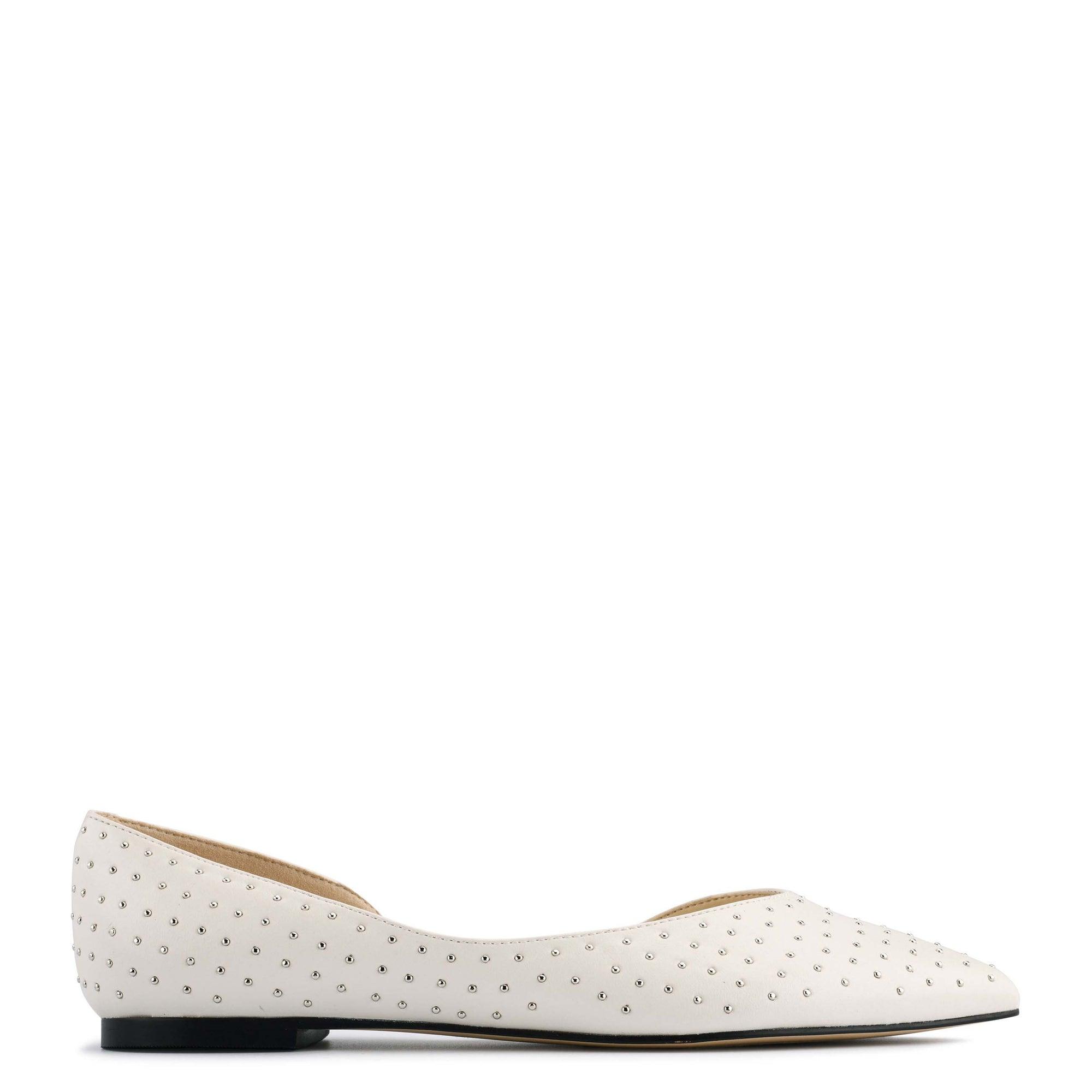 Amore d'Orsay Studded Flats