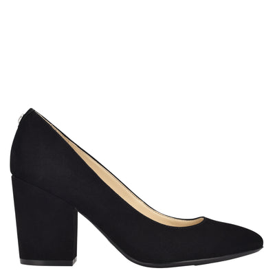 Ani Block Heel Pumps