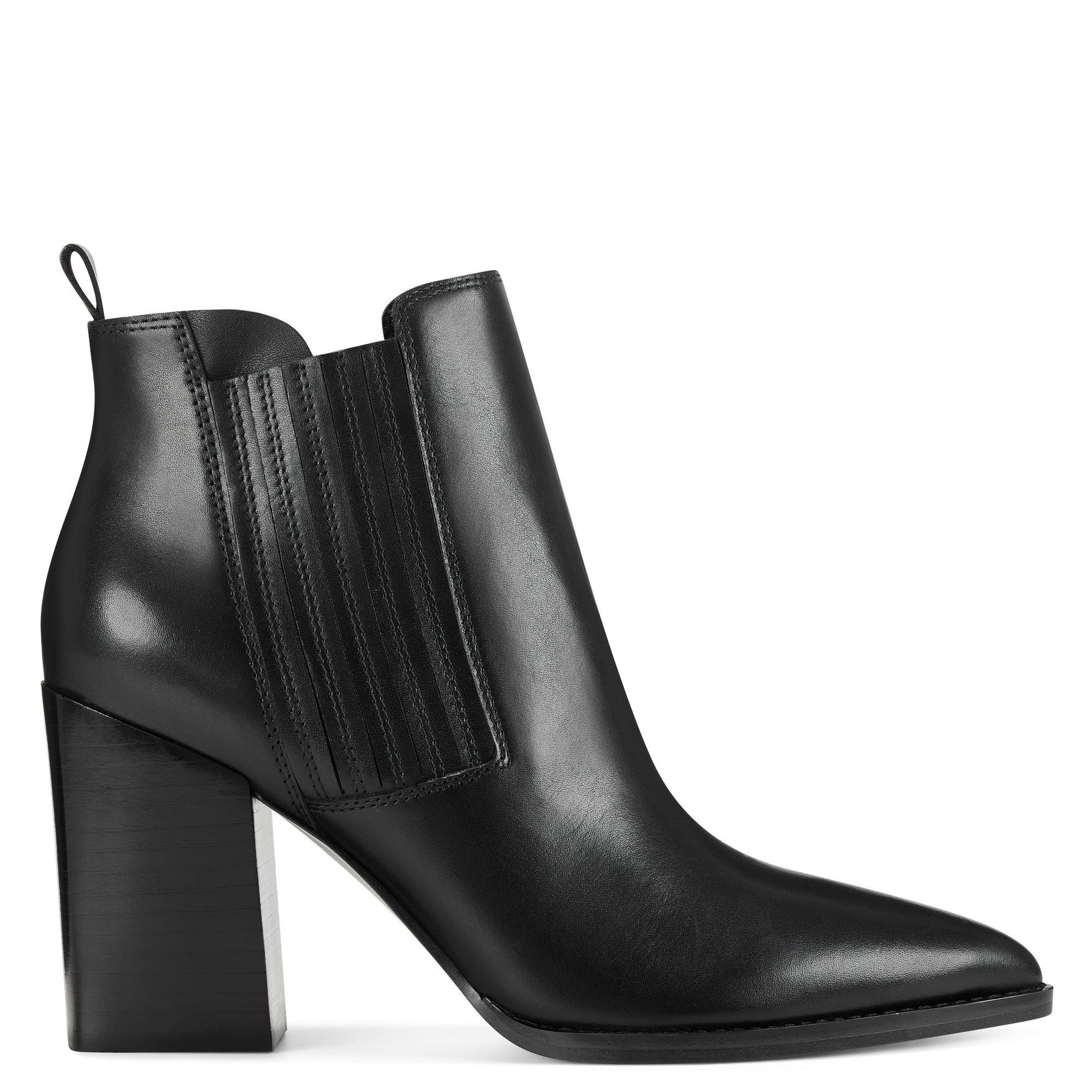 Beata Block Heel Booties