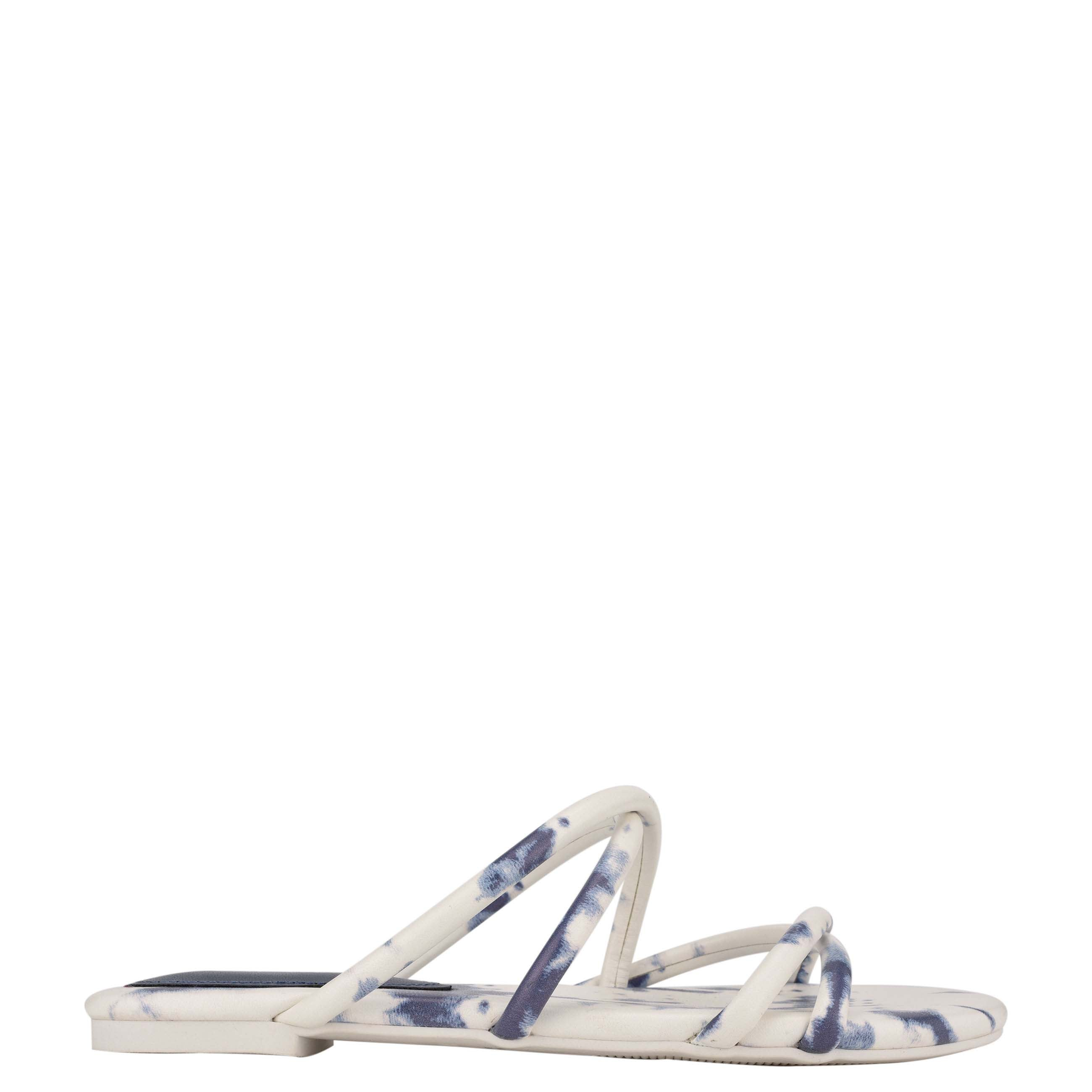 NINEWEST Beva Flat Slide Sandals