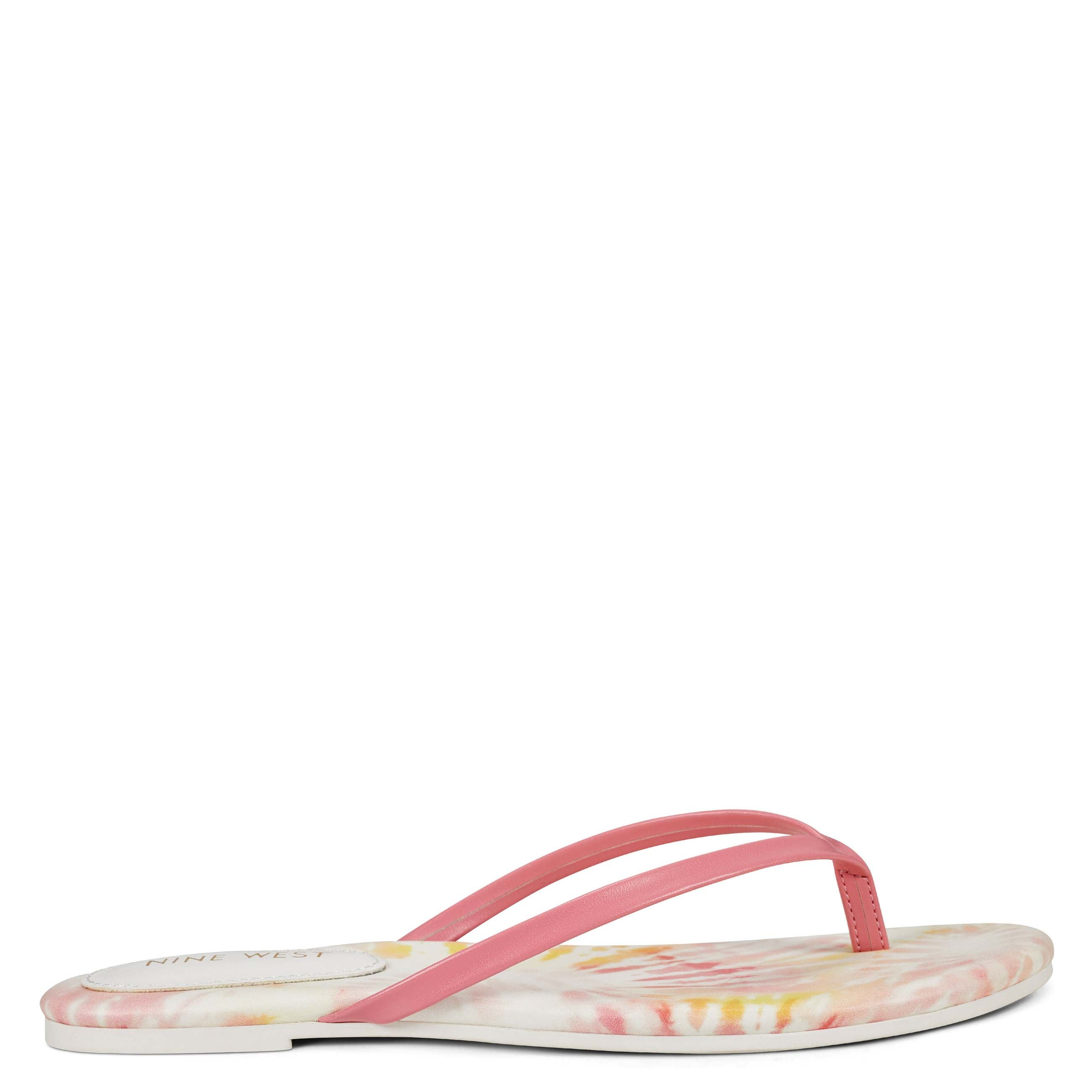 NINEWEST Bossy Flat Thong Sandals