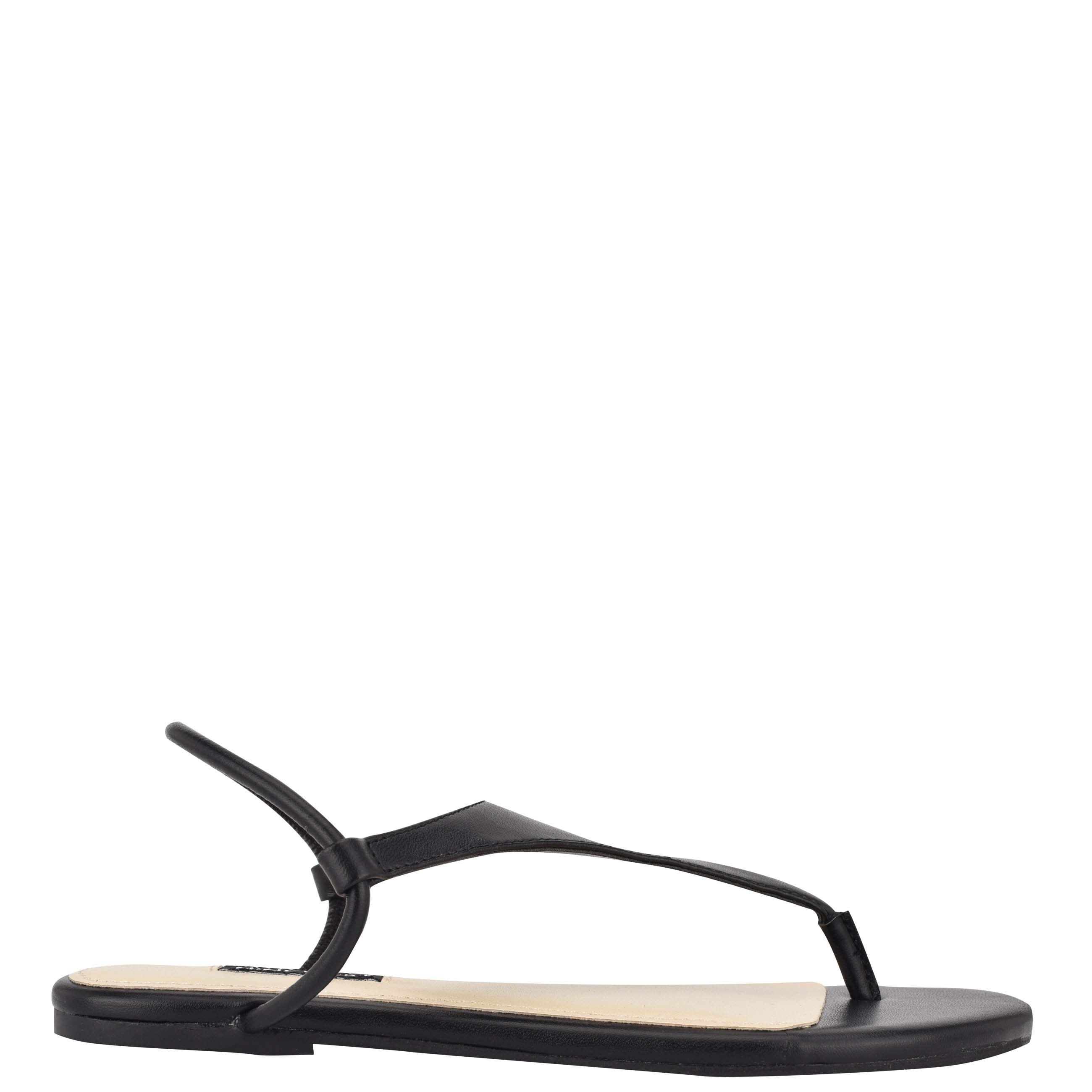 NINEWEST Braydin Stretch Flat Sandals