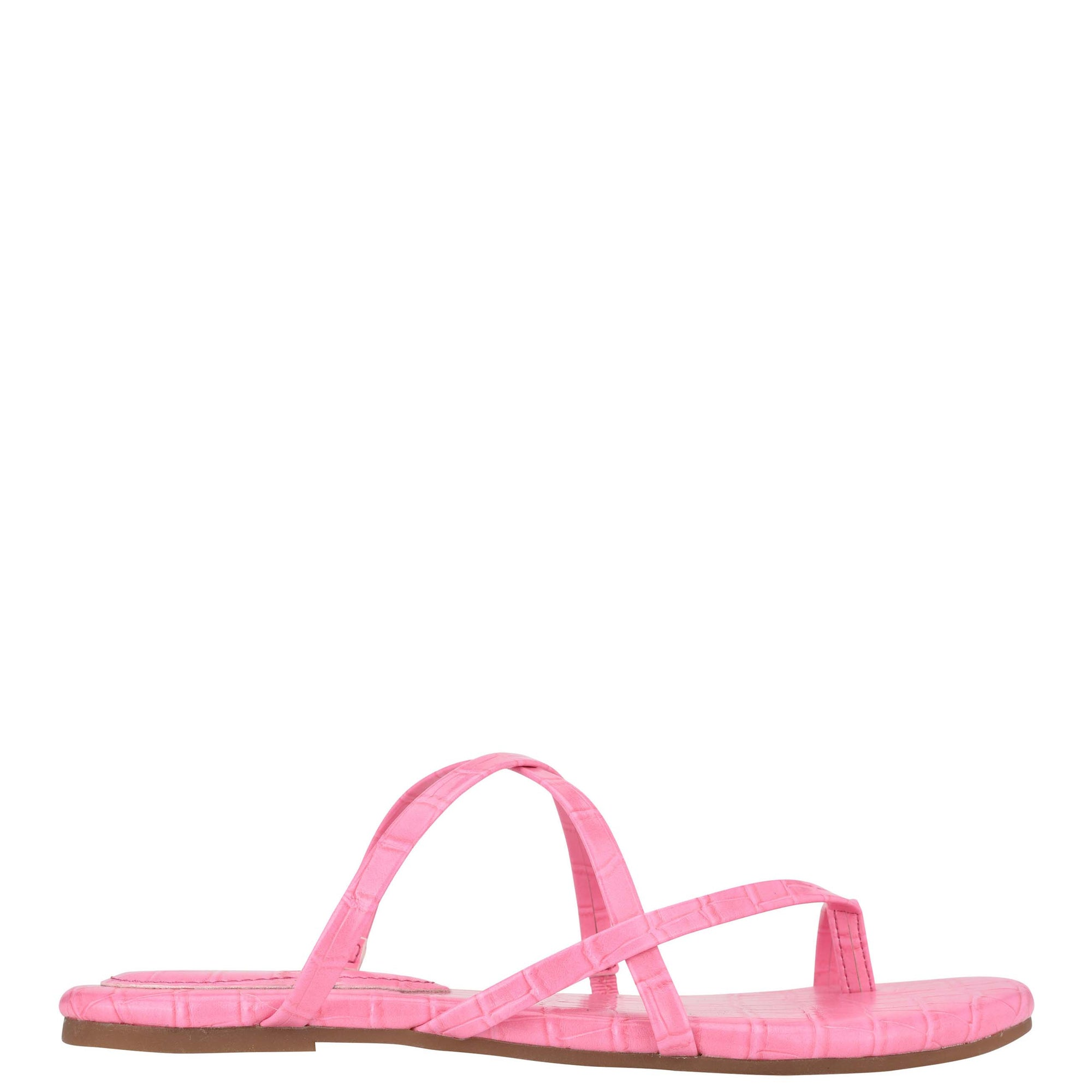 Brice Flat Toe Ring Slide Sandals
