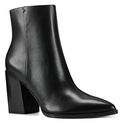 Bryson Block Heel Booties