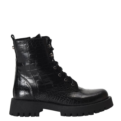 NINEWEST Calisa Combat Lug Sole Boots