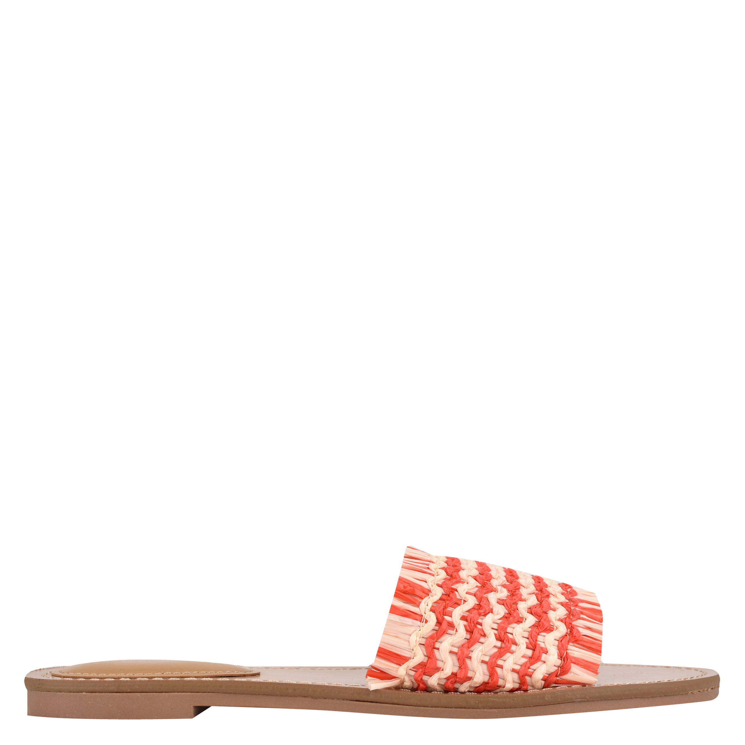 NINEWEST Cammie Flat Slide Sandals