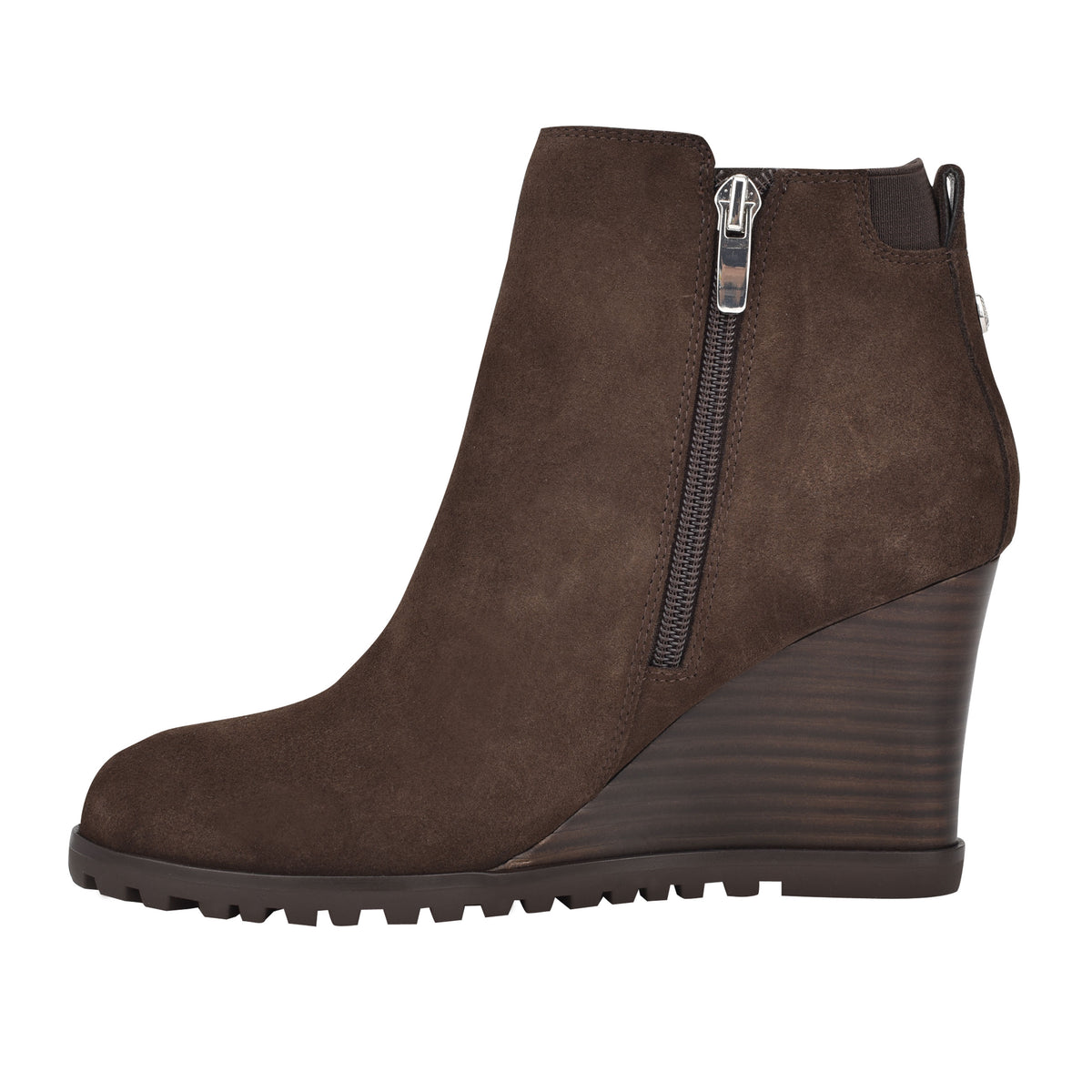 Curtis Wedge Booties