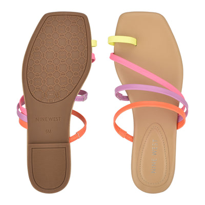 Darbie Flat Toe Ring Slide Sandals